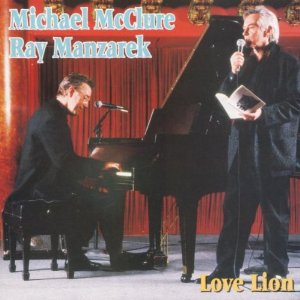 Love Lion CD - Michael McClure & Ray Manzarek